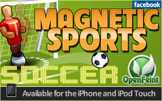 Magnetic Sports Soccer Edition